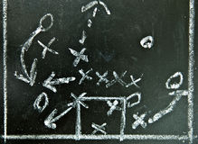 Football strategy Stock Photo