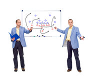 Football strategy Stock Photos