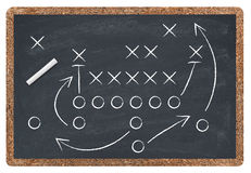 Football strategy Stock Images