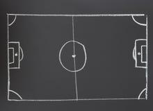 Football strategy Royalty Free Stock Photography