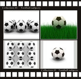 Football subjects Royalty Free Stock Images
