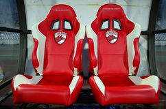 Football Substitutes Empty Bench Royalty Free Stock Images