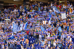 Football supporters Royalty Free Stock Image