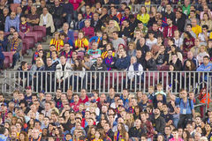 Football supporters Stock Photography