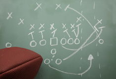 Football Sweep Diagram and football Stock Images