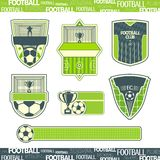 Football symbolism Royalty Free Stock Photo