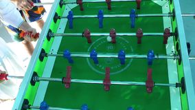 Football Table Entertainment Children Toy stock video