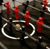 Foosball Table stock photography