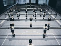 Football Table Soccer game Team Player competition Royalty Free Stock Photos