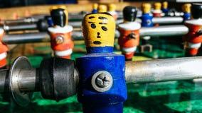 Football table soccer. Sport team football players Stock Photos