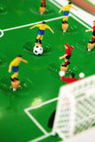 Football table toy Stock Image