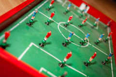 Football tabletop game Stock Images