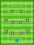 Football tactics Royalty Free Stock Image