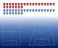 Football Tactics Board Royalty Free Stock Image