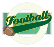 Football With Tail Banner Stock Photo