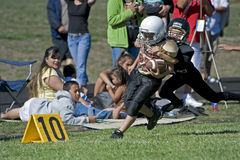 Football take down at the 10 Stock Images