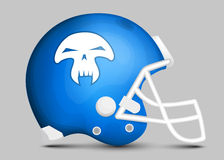 Football team helmet Royalty Free Stock Images