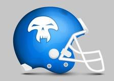 Football team helmet Royalty Free Stock Images