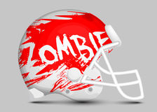Football team helmet Stock Images