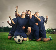 Football team Stock Photography