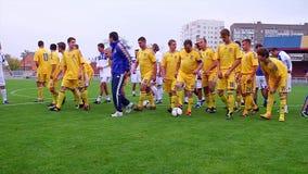 Football team. stock video