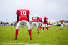 The football team is ready Royalty Free Stock Image