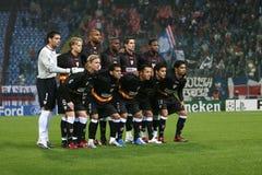 football team valencia στοκ εικόνες
