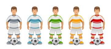 Football team Royalty Free Stock Image