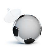Football television Royalty Free Stock Photography