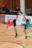 Football tennis - Jiri Doubrava Royalty Free Stock Photos