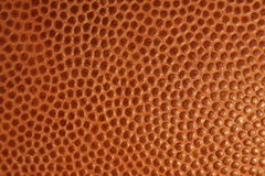 Football texture and detail for background. Macro picture of Football texture for background Stock Images