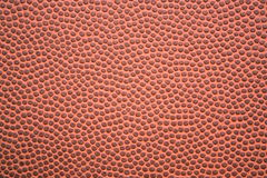 Football Textured Closeup. Closeup of the leather texture on the outside of a football Royalty Free Stock Images