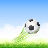 Football theme illustration Royalty Free Stock Photos
