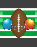Football Themed Vector Image! Royalty Free Stock Image
