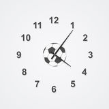 Football time Royalty Free Stock Image