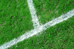 Football touchline Royalty Free Stock Images