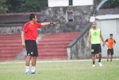 Football training Stock Photos