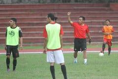 Football training Royalty Free Stock Image