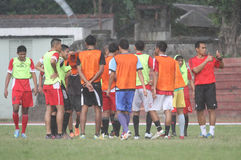 Football training Stock Photography