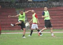 Football training Stock Photo