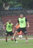 Football training Royalty Free Stock Photos