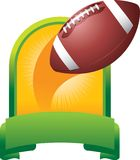 Football trophy Stock Photography