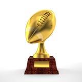 Football trophy Stock Image