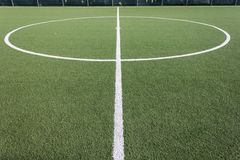 Football turf Stock Image