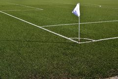 Free Football Turf With Artificial Grass Royalty Free Stock Photography - 159819307