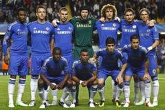 Football UEFA Champions League Chelsea v Juventus Royalty Free Stock Image