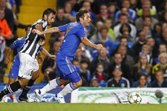 Football UEFA Champions League Chelsea v Juventus Royalty Free Stock Image