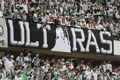 Football ultras Stock Images
