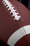 Football up-close Stock Images