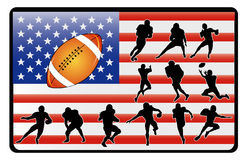 Football vector Royalty Free Stock Photo
